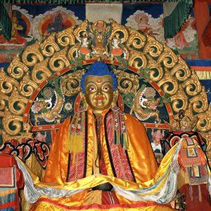 Reprezentuje Buddę Historycznego